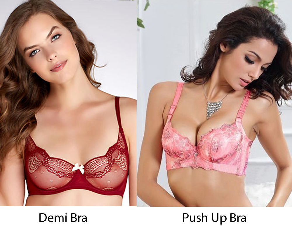Demi Bra vs Push Up Bra 7