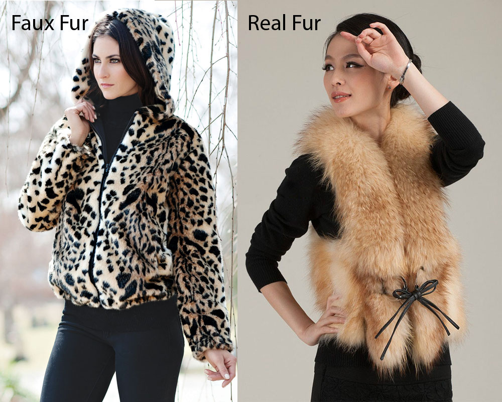 Faux Fur vs Real Fur 2