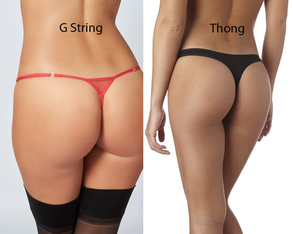 G String vs Thong 1