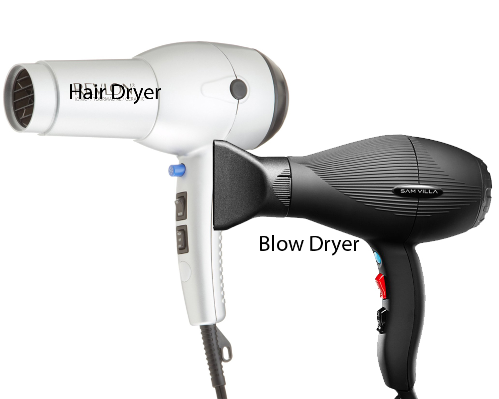 Hair Dryer vs Blow Dryer 3