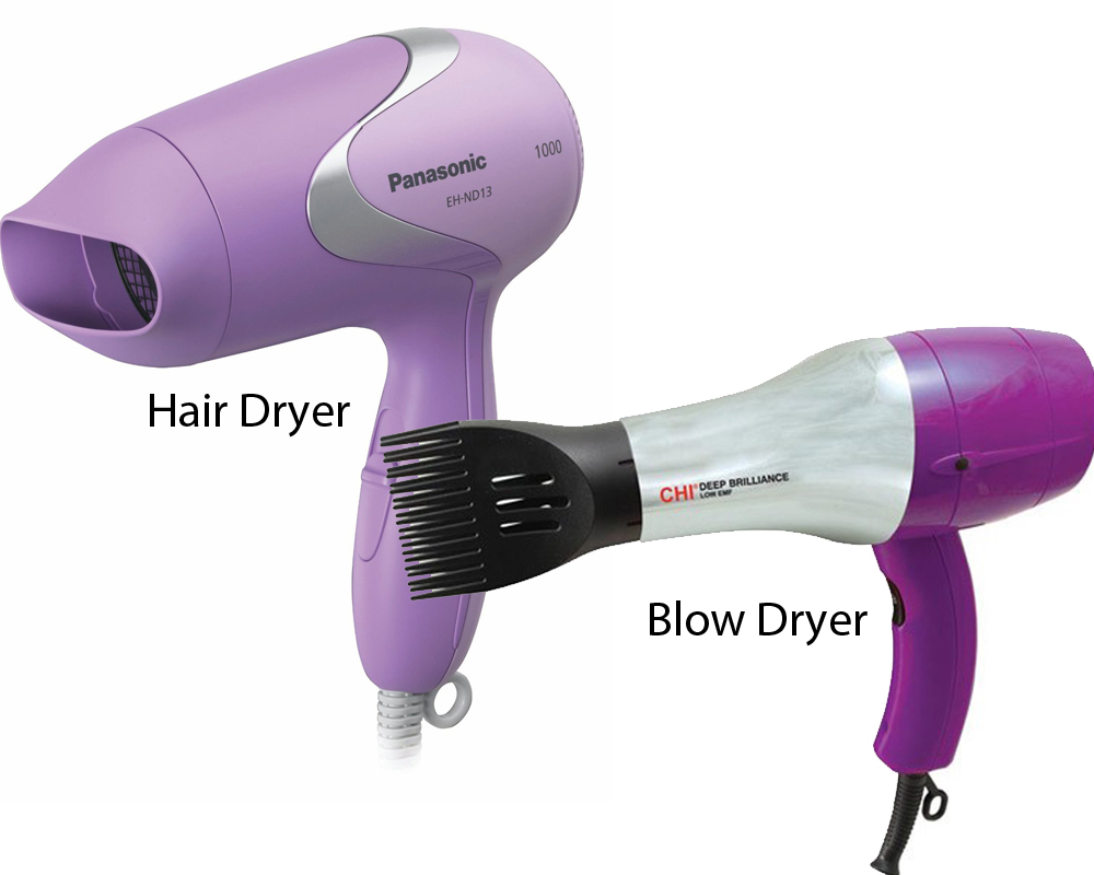 Hair Dryer vs Blow Dryer 5