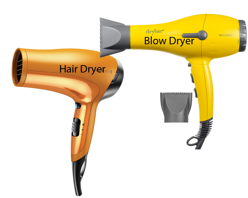 Hair Dryer vs Blow Dryer 6