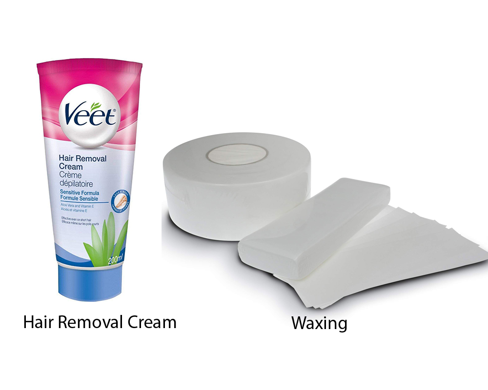 Hair Removal Cream vs Waxing 1