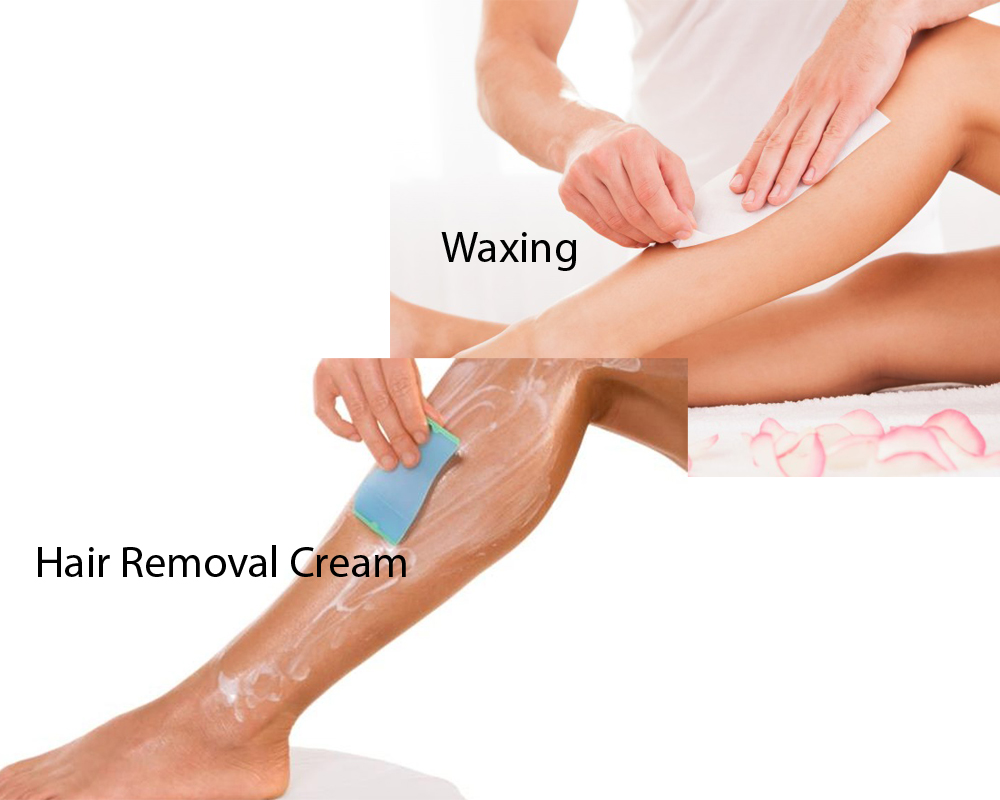 Hair Removal Cream vs Waxing 2