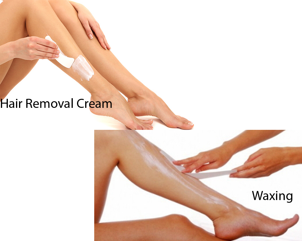 Hair Removal Cream vs Waxing 3