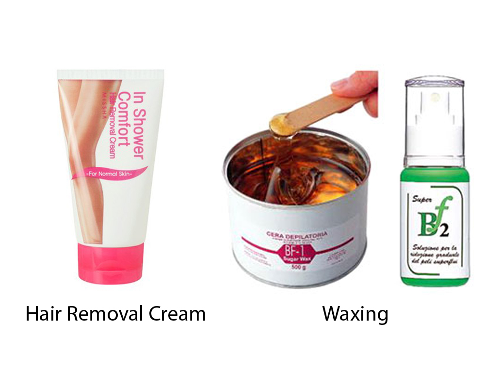 Hair Removal Cream vs Waxing 6