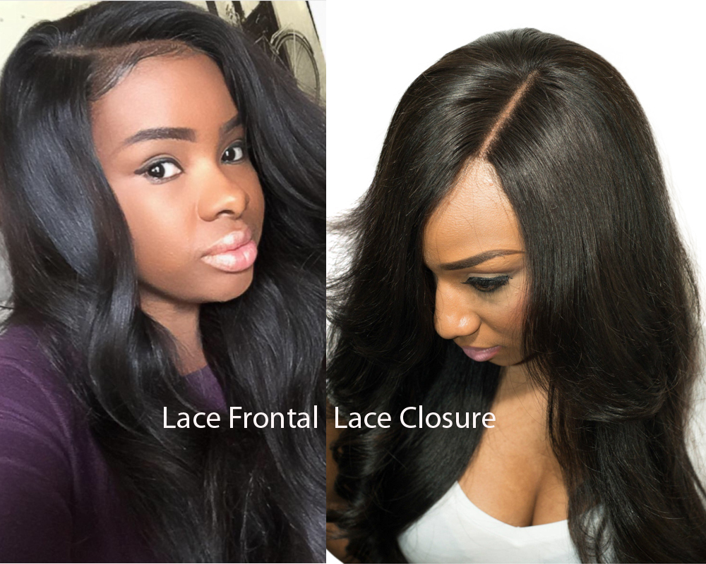 Lace Frontal vs Lace Closure 2