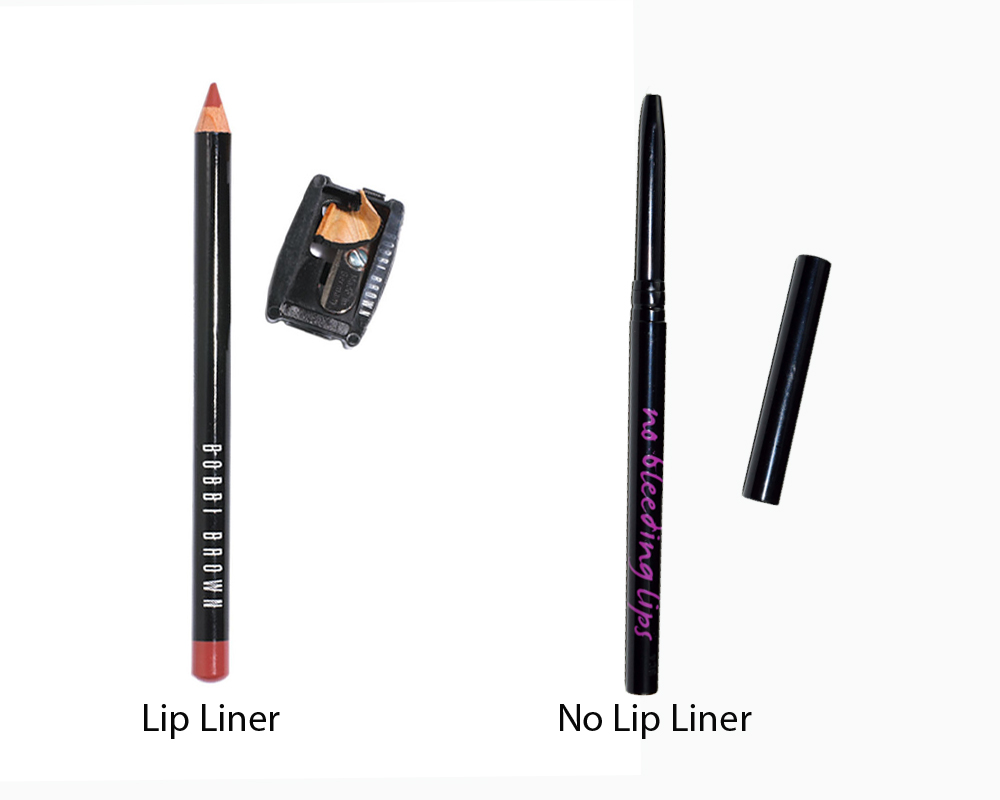 Lip Liner vs No Lip Liner 6