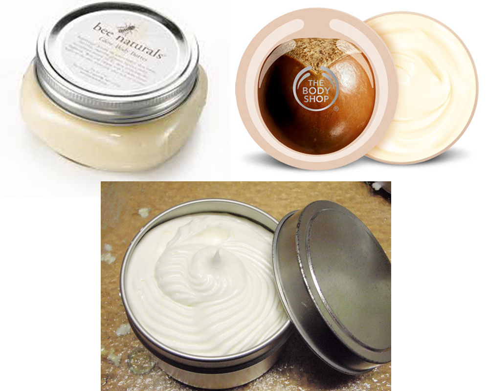 Lotion vs Body Butter b