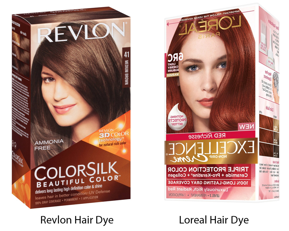Revlon vs Loreal Hair Dye 1