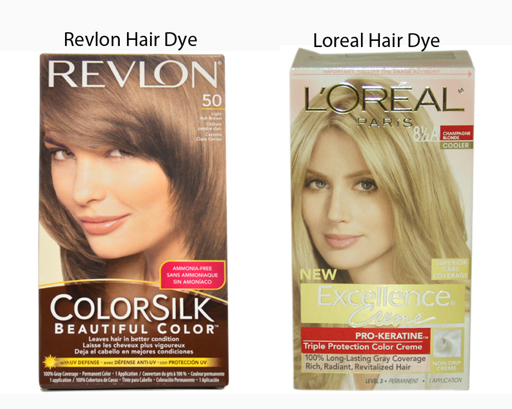 Revlon vs Loreal Hair Dye 2