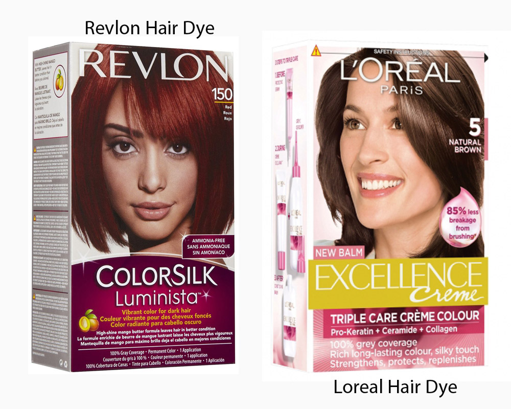 Revlon vs Loreal Hair Dye 3