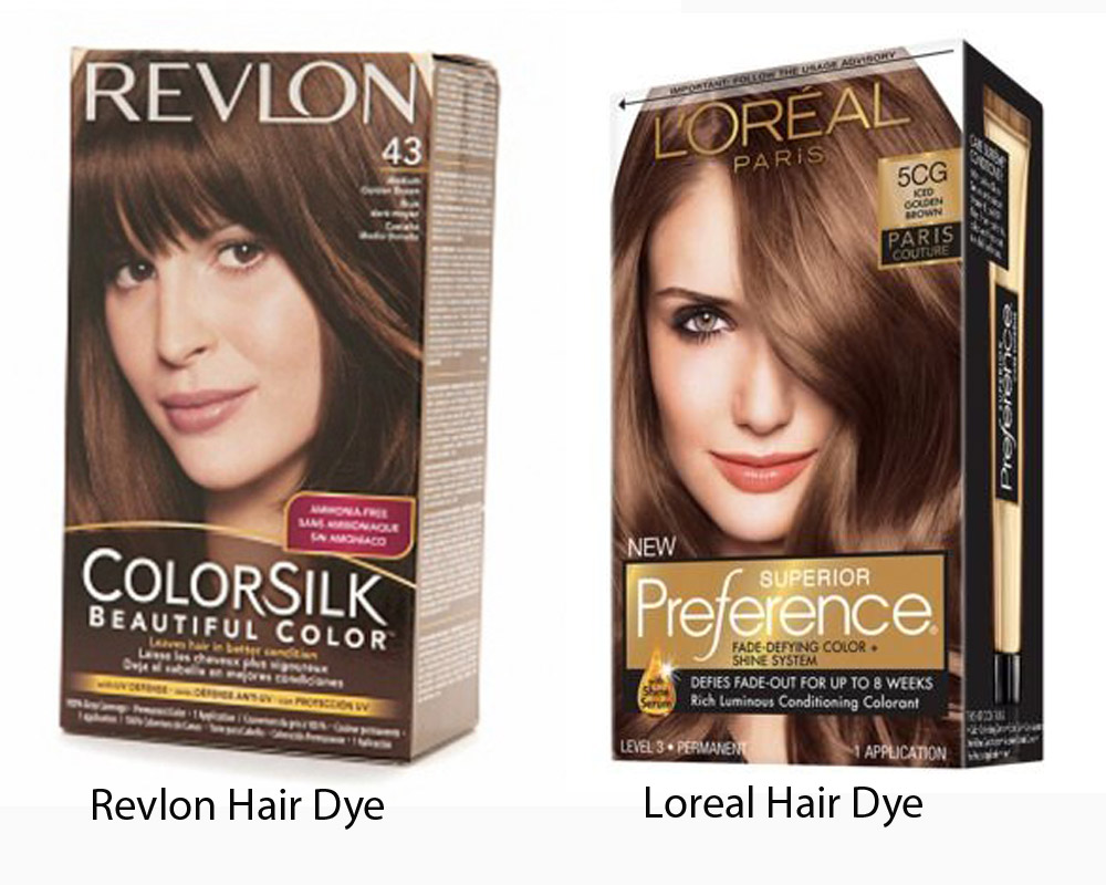 Revlon vs Loreal Hair Dye 4