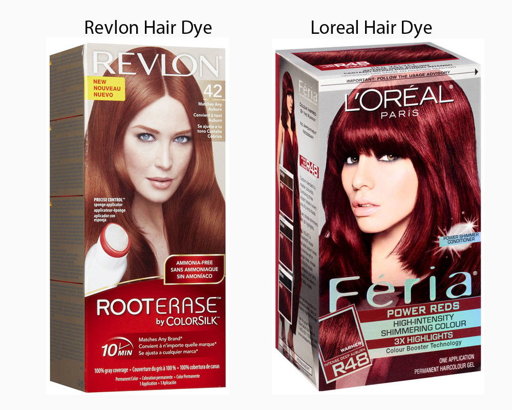 Revlon vs Loreal Hair Dye 5