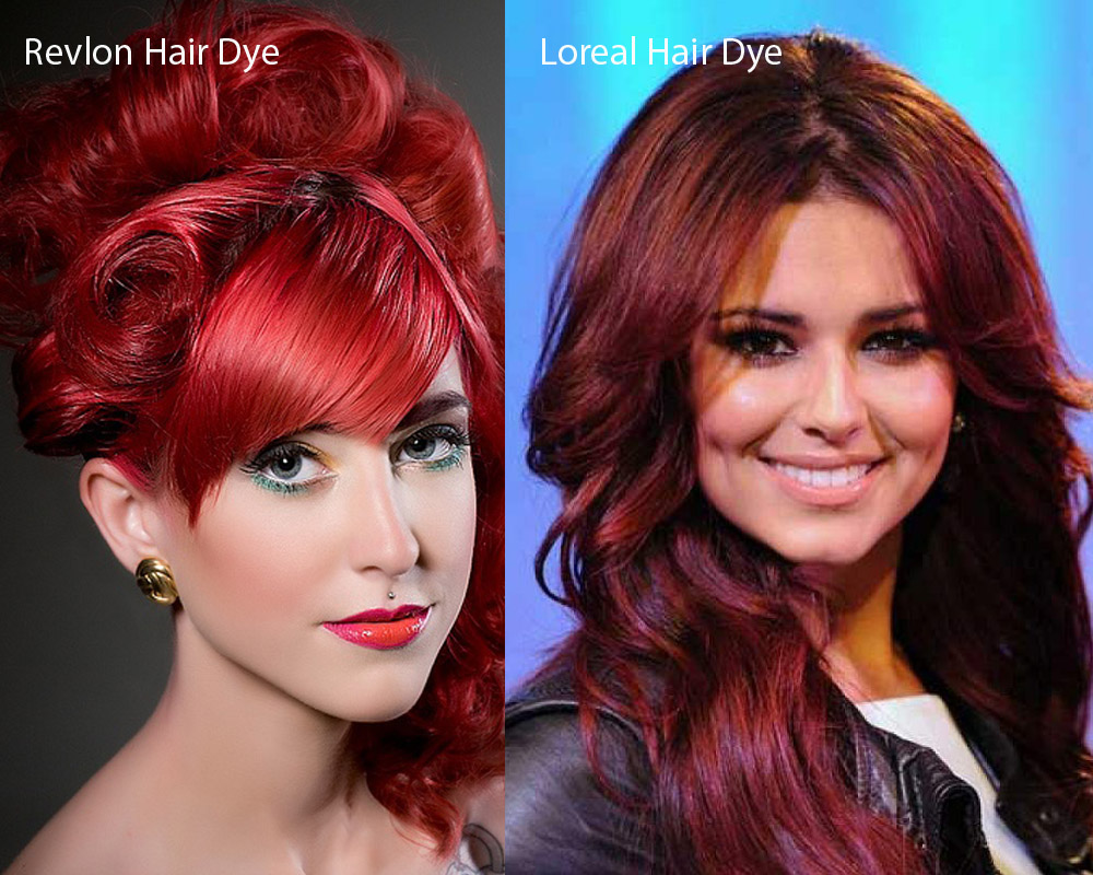 Revlon vs Loreal Hair Dye 6