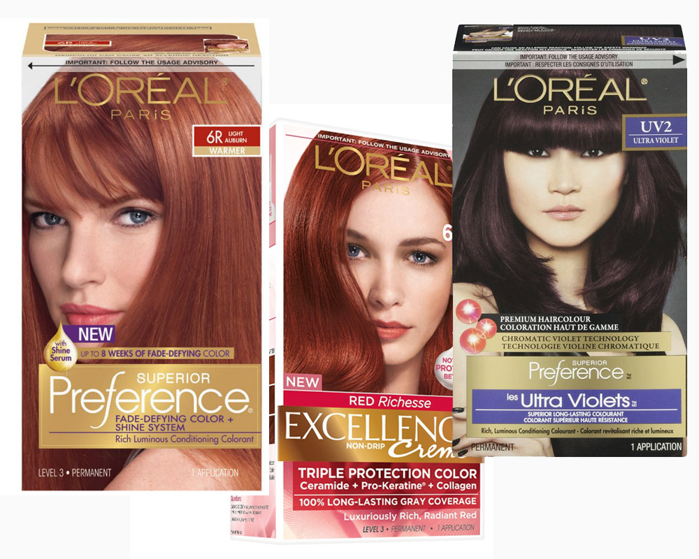 Revlon vs Loreal Hair Dye b