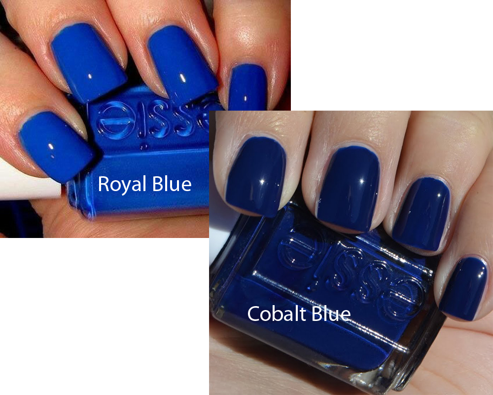 Royal Blue vs Cobalt 3