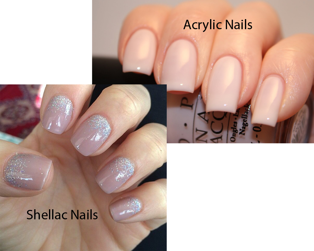 Shellac Nails vs Acrylic Nails 2