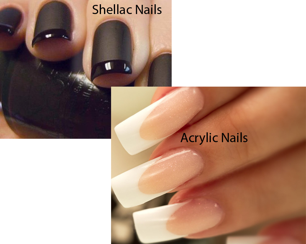 Shellac Nails vs Acrylic Nails 3