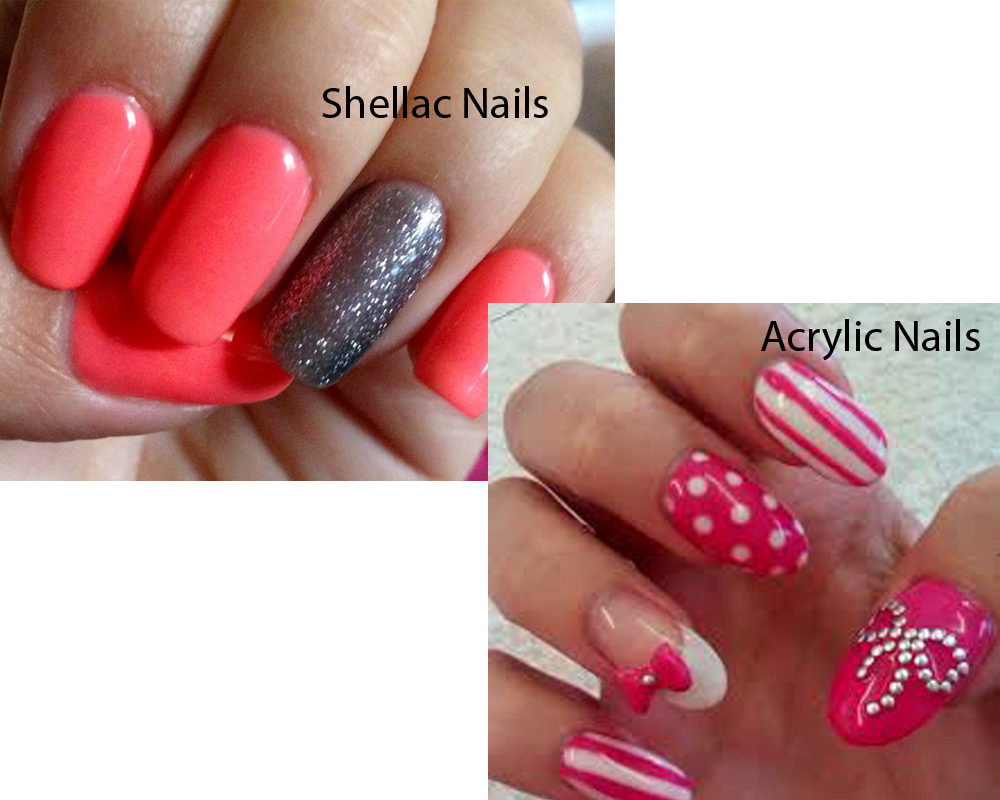 Shellac Nails vs Acrylic Nails 4