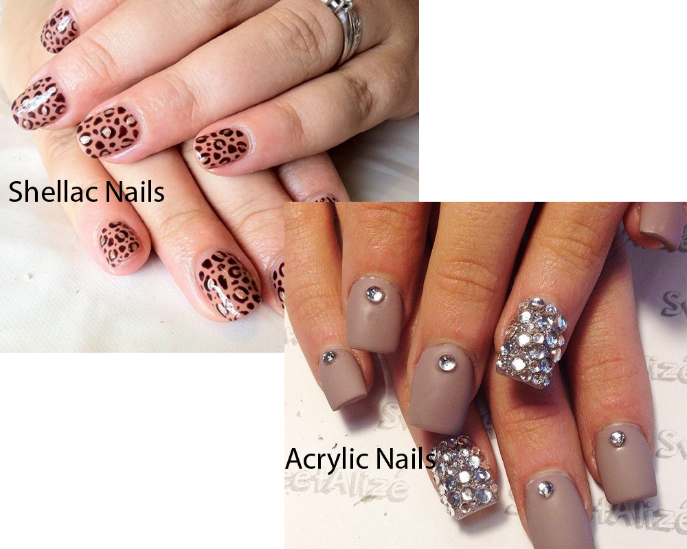 Shellac Nails vs Acrylic Nails 5