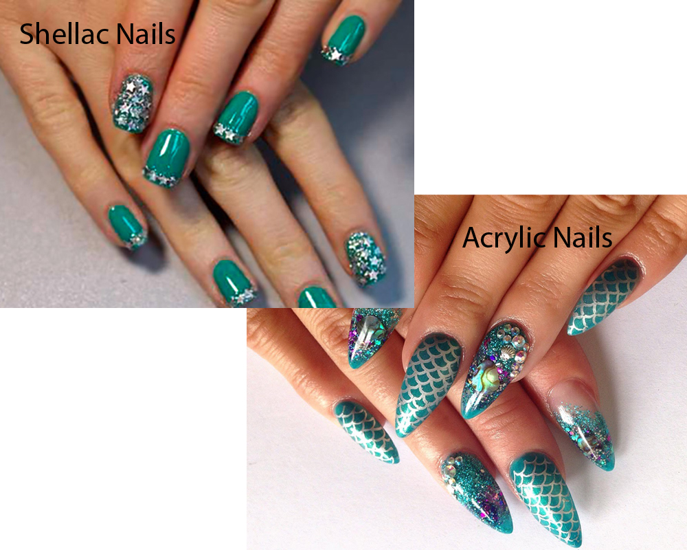Shellac Nails vs Acrylic Nails 6