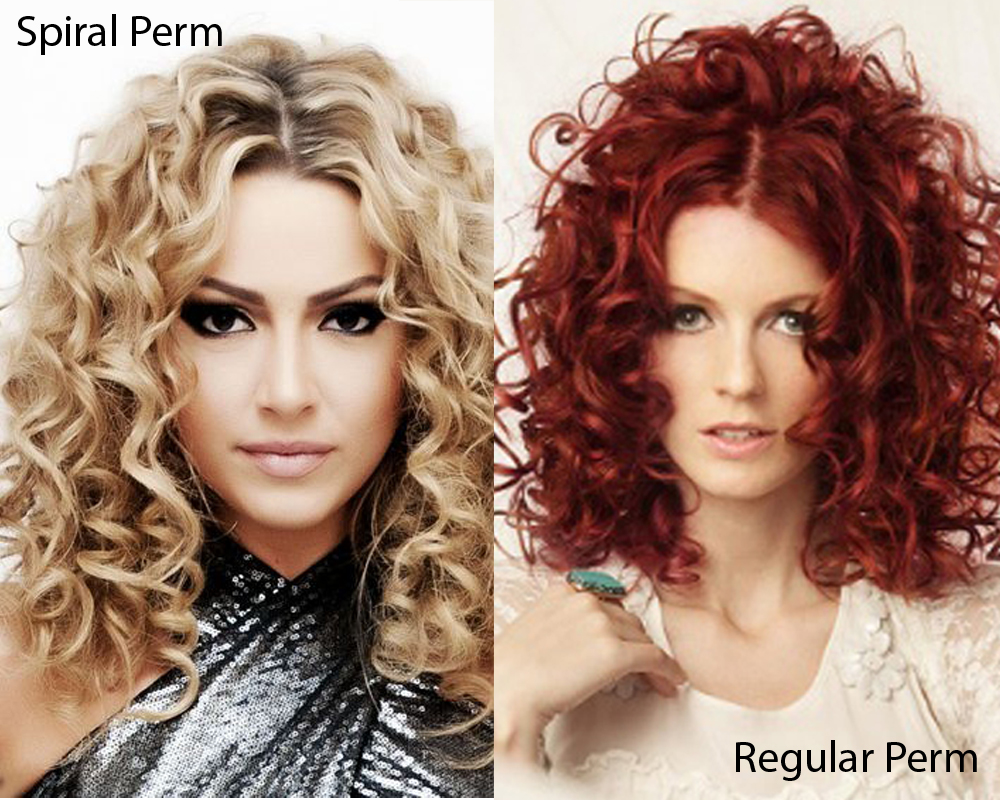 Spiral Perm vs Regular Perm 2