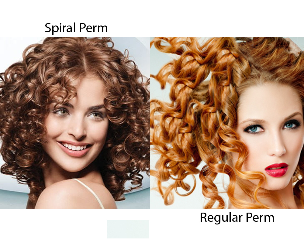 Spiral Perm vs Regular Perm 3