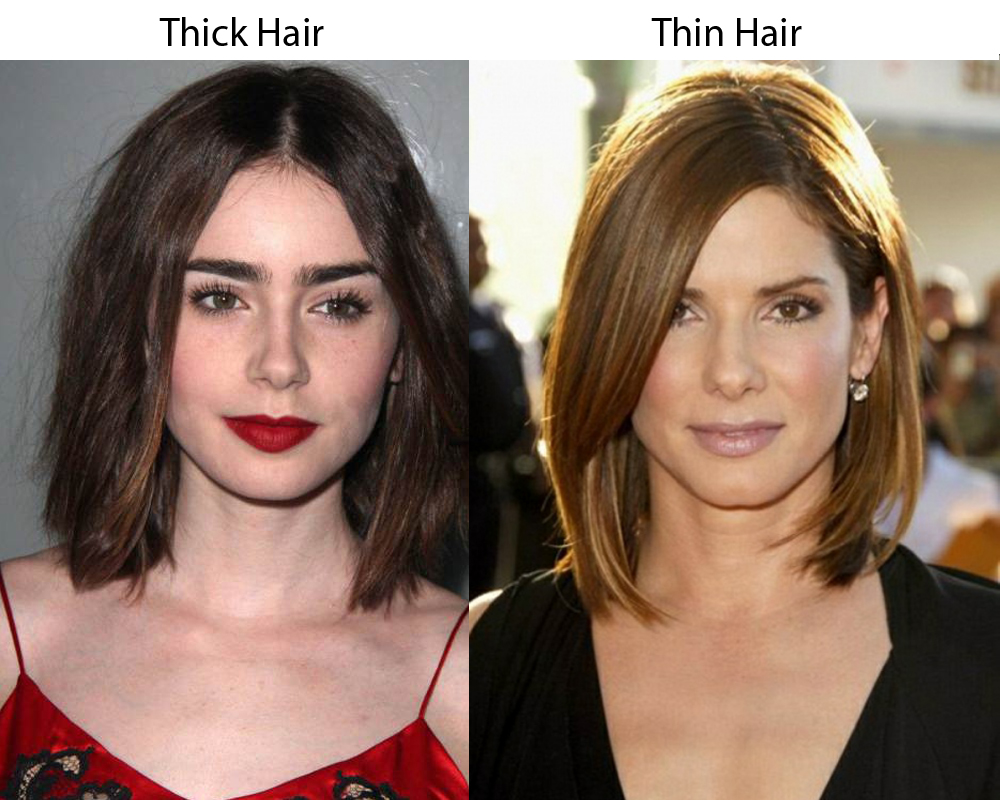Thick Hair vs Thin Hair 3