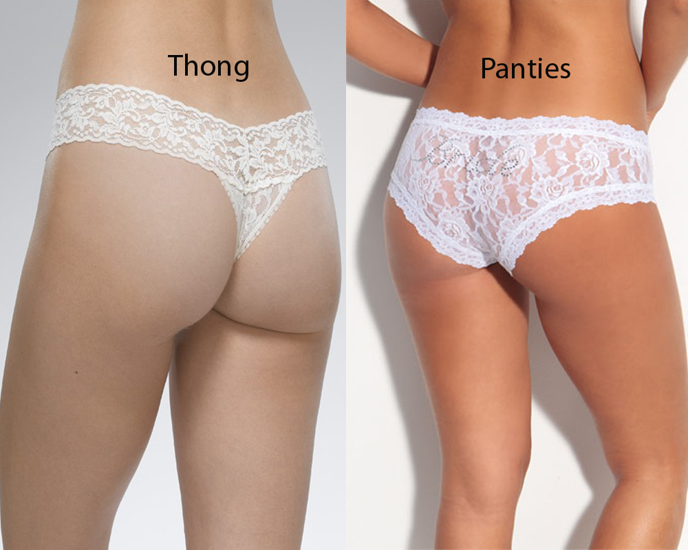 Thong vs Panties 4