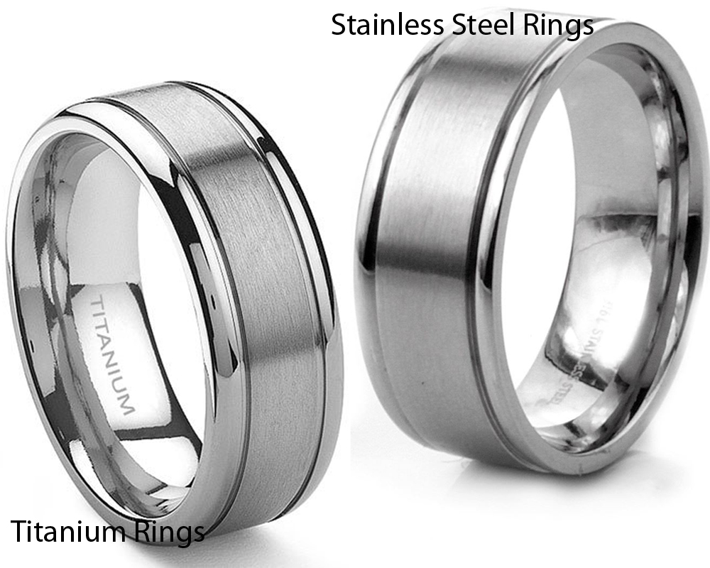 Titanium vs Stainless Steel Rings 1