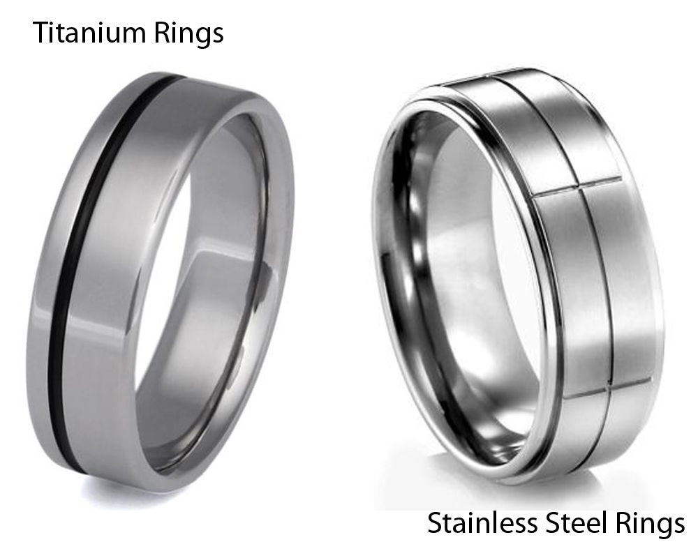 Titanium vs Stainless Steel Rings 2