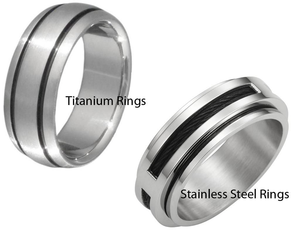 Titanium vs Stainless Steel Rings 3