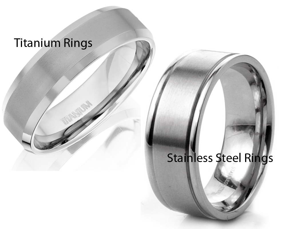 Titanium vs Stainless Steel Rings 4