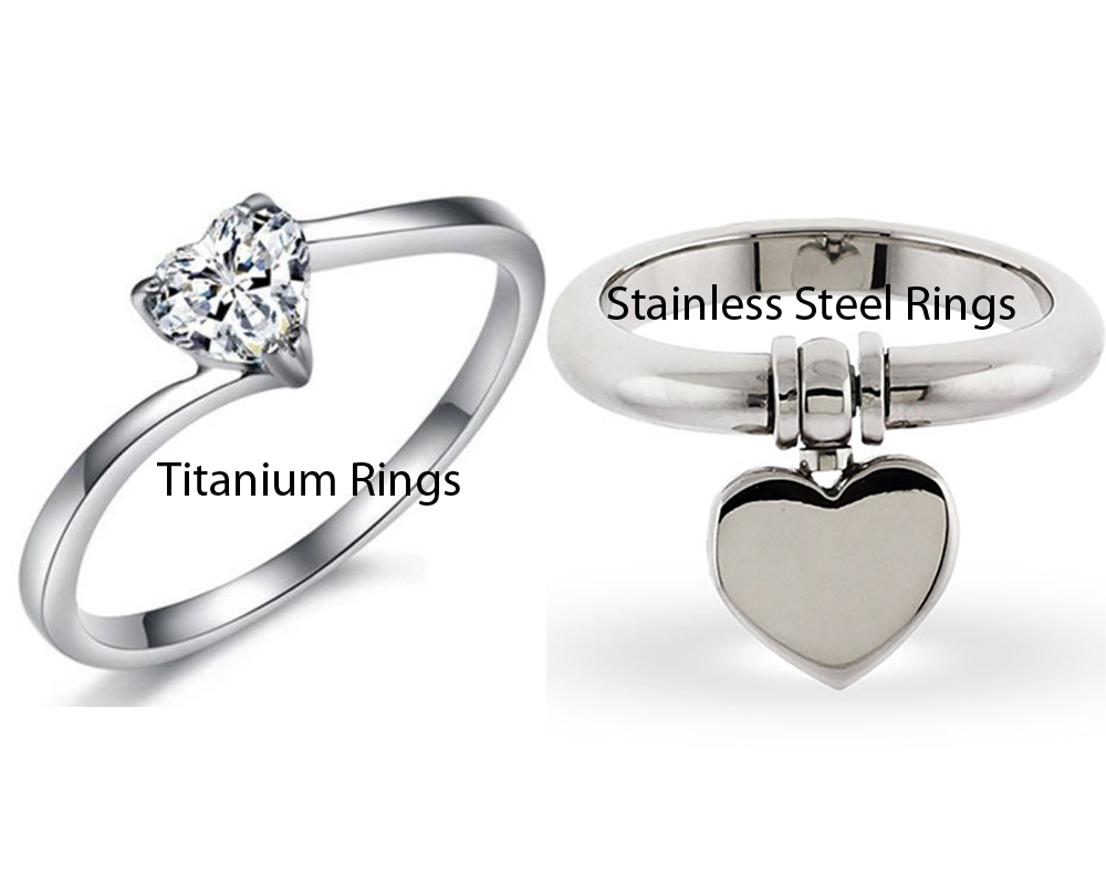 Titanium vs Stainless Steel Rings 5