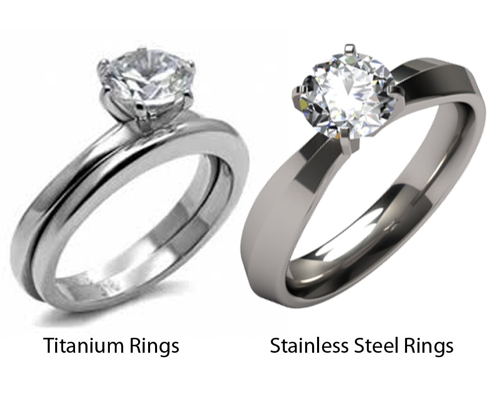 Titanium vs Stainless Steel Rings 6