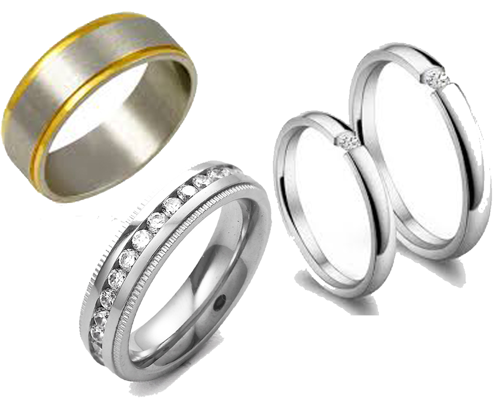 Titanium vs Stainless Steel Rings b