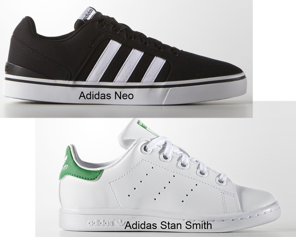 Adidas Neo vs Stan Smith | iLookWar.com