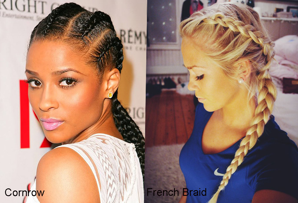 Cornrow vs French Braid