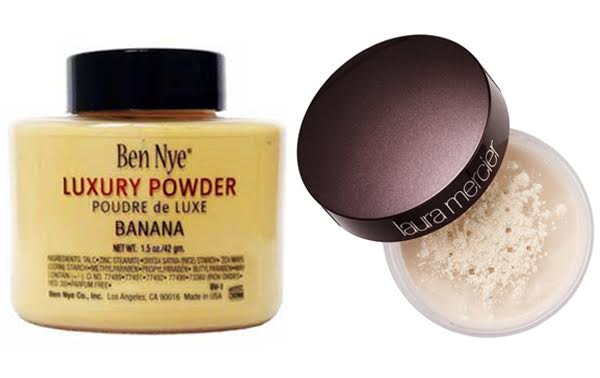 Ben Nye Banana Powder vs Laura Mercier