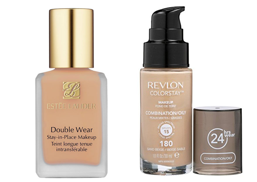 Estee Lauder Double Wear vs Revlon ColorStay